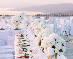 Romantic Wedding in Greece